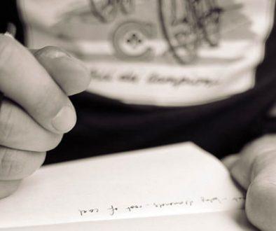 Começar a escrever